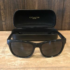 NWT Authentic Coach Hudson Rectangle Sunglasses